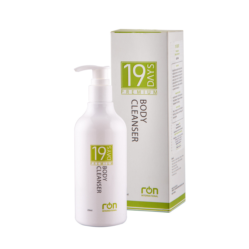 Sữa dưỡng trắng da toàn thân 19 Days Premium Body Cleanser