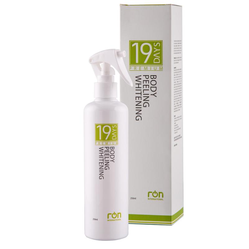 19 Days Body Peeling Whitening giúp loại bỏ tế bào da mới cho da luôn khỏe mạnh