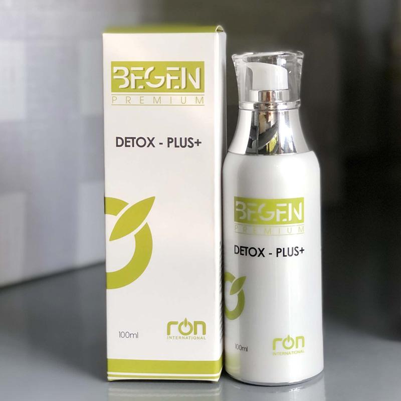 DETOX PLUS+ giúp loại bỏ các độc tố từ sâu bên trong da
